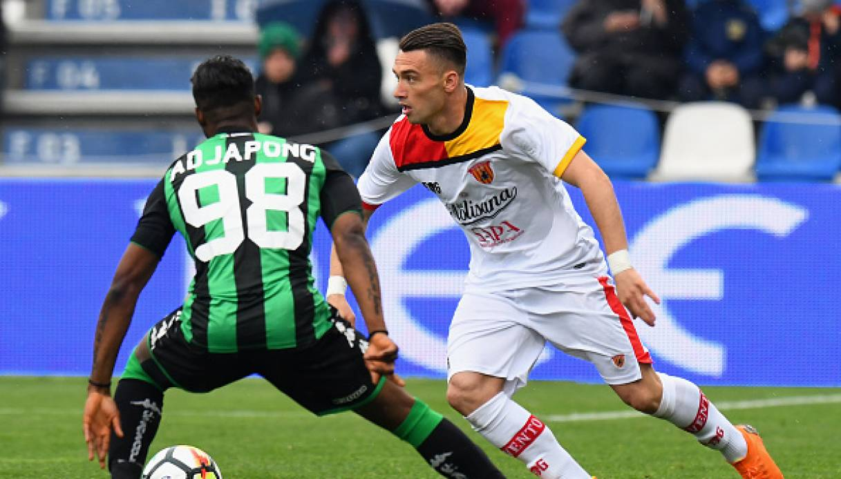 Sassuolo-Benevento 2-2