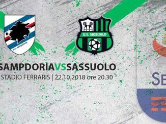 biglietti sampdoria-sassuolo
