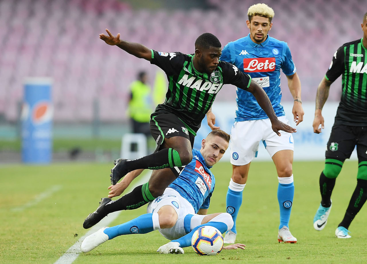 Napoli-Sassuolo 2-0