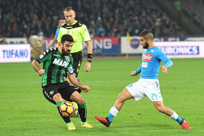 Soccer: Serie A; Napoli-Sassuolo