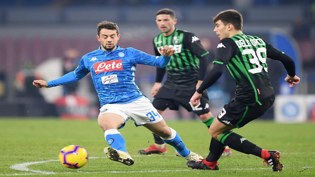 SSC Napoli v US Sassuolo – Coppa Italia