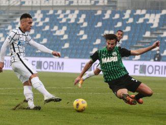 Sassuolo-inter 0-3