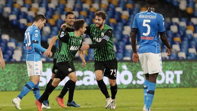 Napoli-Sassuolo 0-2