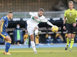 Verona-Sassuolo 0-2
